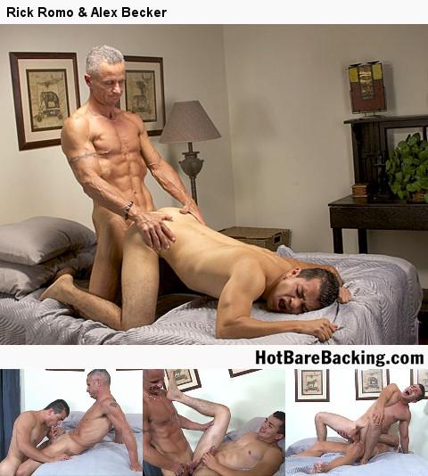 Gay Bareback Sex : RJ Cummings, Frank Young & Miguel Temon!