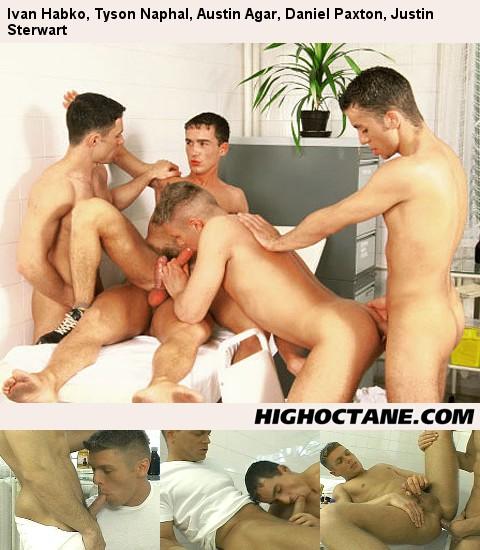 Post thumbnail of Ivan Habko, Tyson Naphal, Austin Agar, Daniel Paxton, Justin Sterwart