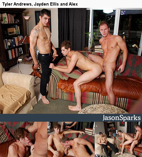 Gay Porn : Jason Sparks and Tyler Andrews!