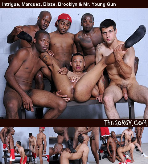 Gay Black Thugs : Blaze, Intrigue, Awesome Lovett, Dee Truth & King B!