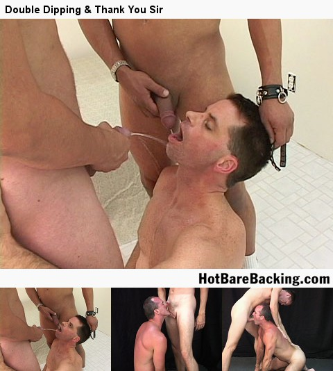 Gay Bareback Sex : Joey & Will Anton!