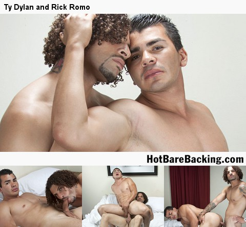 Gay Bareback Sex : Fuck My Black back - Scene 5!