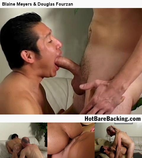 Gay Bareback Sex : Blue Bailey & Ryan!